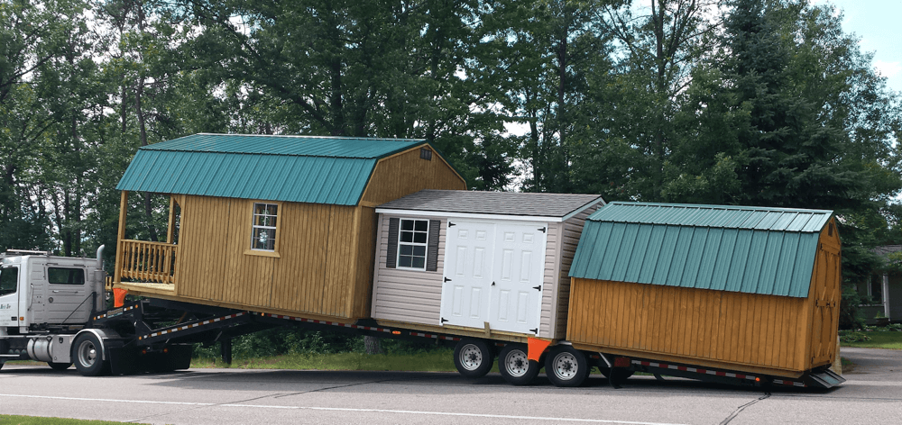 we deliver state wide - Garden Sheds Madison Wi