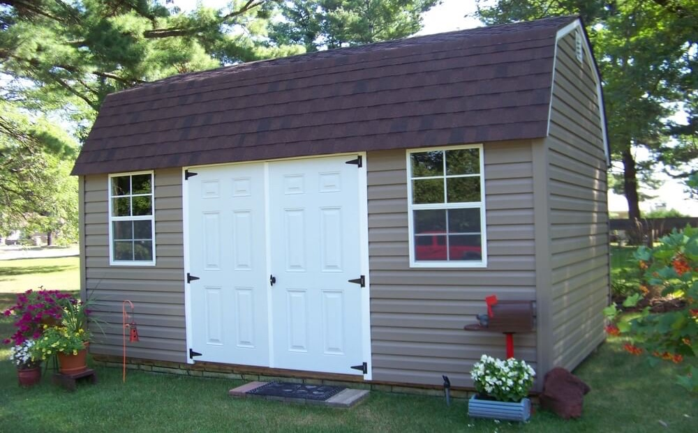 Shed kits for sale michigan how to build a pole shed pole barn house prices finished morton - Garden sheds michigan ...